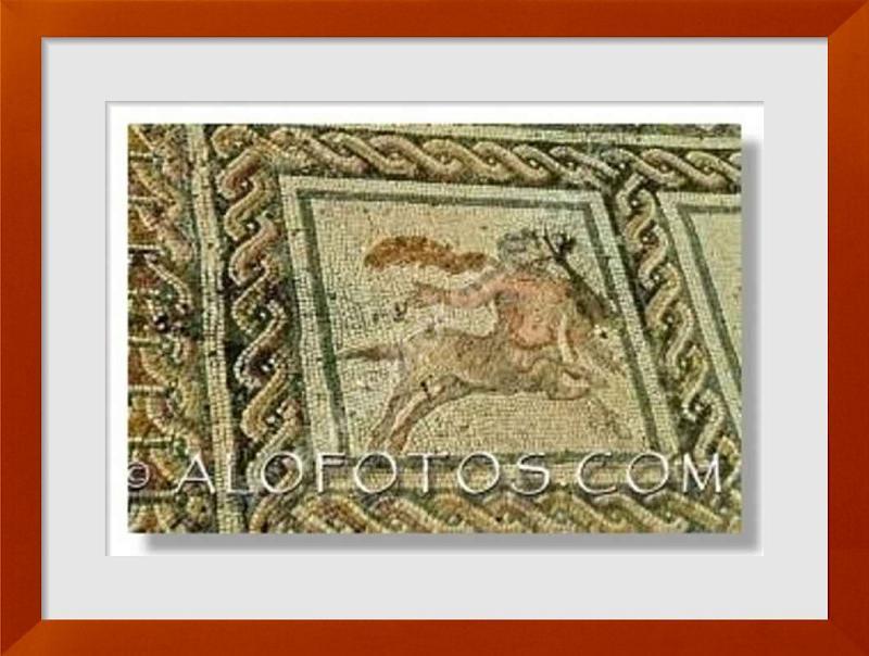 fotos de mosaicos romanos