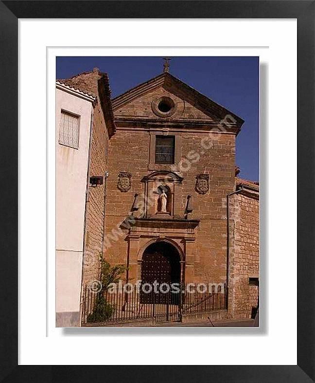 Portada Iglesia, Convento de las Carmelitas Descalzas,Baeza, Jaén