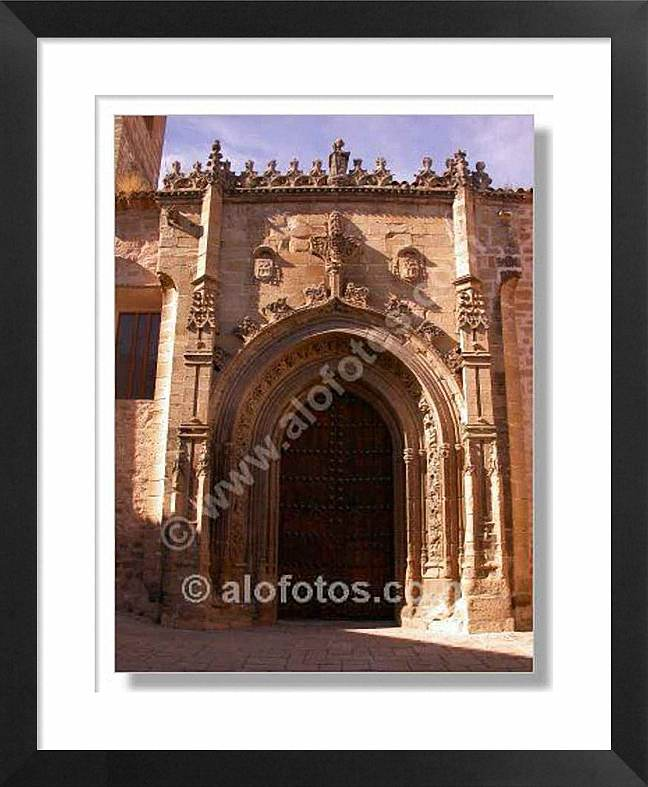 Portada Iglesia, Baeza