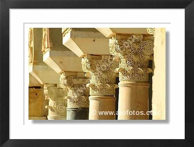 Titulo de la foto: capiteles arabes