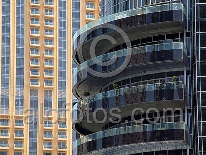 detalle paisaje urbano edificio