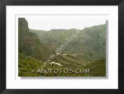 vista del barranco de Nasca. Tenerife