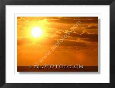 Puesta de Sol - colores calidos