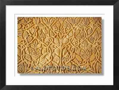 dibujos ornamentales, Mezquita de Córdoba - arabescos