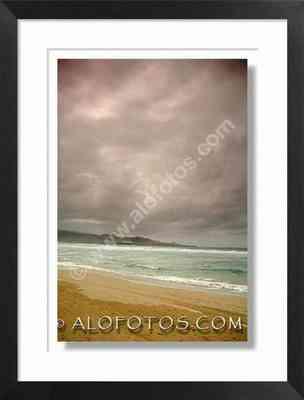 playa y tormenta, Gran Canaria - lluvia