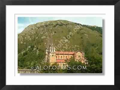 Basílica, Santa María la real, Covadonga