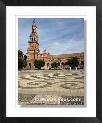 paisajes urbanos, plaza de España