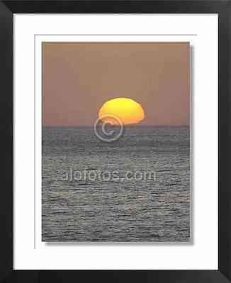 Aradecer, puesta de sol