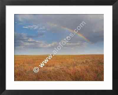 paisajes de Africa, arcoiris en las llanuras del Serengeti