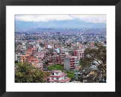 Vista de Katmandú, fotos de ciudades de Nepal