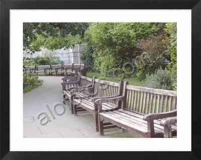 vista de uno de los parques públicos de Londres
